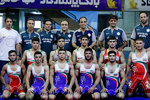 Iran's freestyle team finishes third at Junior World C'ships