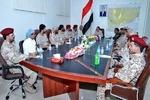 یمن کے صوبہ الجوف میں علی محسن الاحمر کے قافلے پر حملہ
