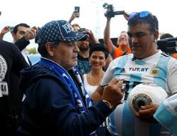 Fotoğraf: Futbol efsanesi Maradona, Belarus'la anlaştı