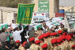 بازگشت پیکر ۷۲ شهید تازه تفحص شده از مرز شلمچه به وطن