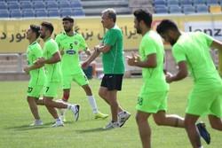 برانکو ایوانکوویچ - تمرین تیم فوتبال پرسپولیس