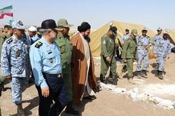 امیر شاهصفی از اردوگاه کویر دانشگاه شهید ستاری بازدید کرد
