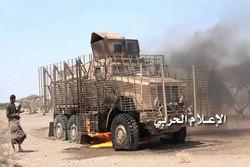 أنصار الله يقصفون القوات السعودية في جيزان