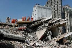 ریزش ساختمان در دهلی نو