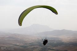 سقوط یک فروند پاراگلایدر در کردکوی
