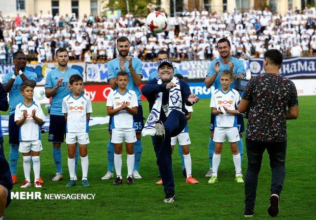 Futbol efsanesi Maradona, Belarus'ta anlaştı