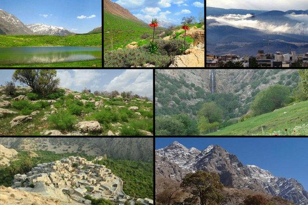 گردش در سرزمین رنگهای دلبرانه/ازسایهسار بلوطها تاخنکای آبشارها