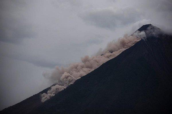 افزایش شمار جانباختگان فوران آتشفشان در گواتمالا به ۱۲۱ نفر