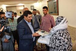 دیدار رییس ستاد اجرایی فرمان امام(ره) با خانواده شهیدان در قرچک