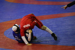 Iran women classic wrestling league