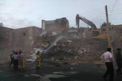 آوار ساختمان مسکونی ۲ طبقه در پیشوا/حادثه تلفات جانی نداشت
