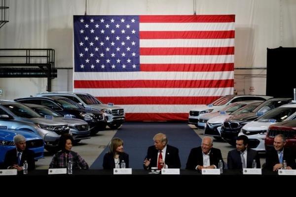 تاثیر تعرفههای آمریکا بر قیمت خودرو