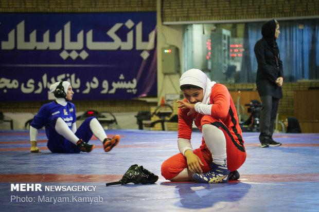 Iran women classic wrestling league