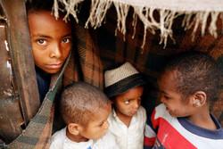 زندگی سخت آوارگان یمنی