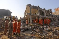 ہندوستان میں عمارت منہدم ہونے سے متعدد افراد ملبہ میں دب گئے
