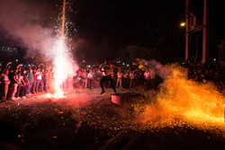 Nurgavan ritual ceremony in Amol
