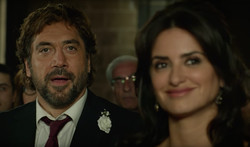 "Javier Bardem and Penelope Cruz act in a scene from ""Everybody Knows"" by Asghar Farhadi."