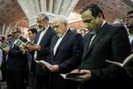 تجدید بیعت وزیر امور خارجه، معاونین و سفیران ایران با آرمان های امام راحل (ره)