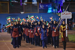 حفل افتتاح الأولمبياد الرياضي الرابع عشر للطالبات/صور