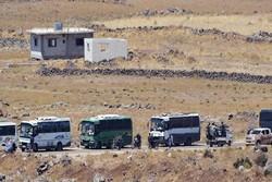 خروج 55 حافلة تقل مسلحين وعوائلهم من ريف القنيطرة