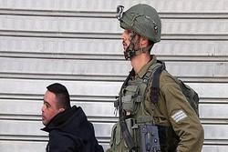 İsrail askeri ve Down sendromlu Filistinli