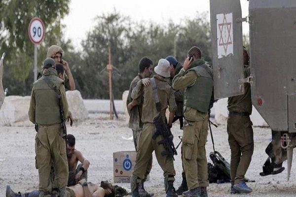 زخمی شدن 3 نظامی صهیونیست در کرانه باختری