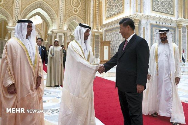 Çin Devlet Başkanı, Abu Dabi'de
