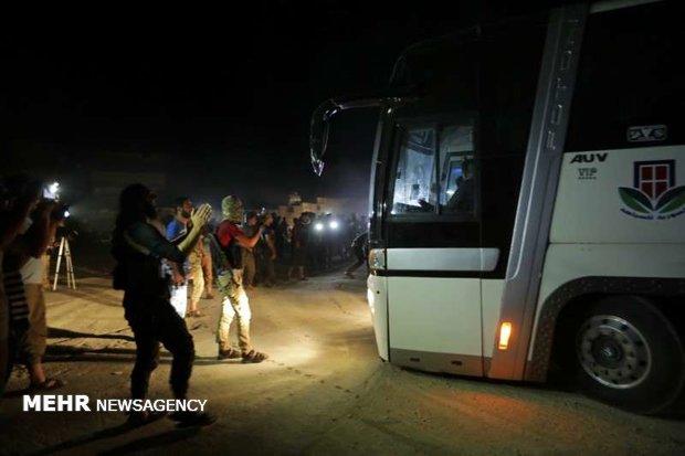 تخلیه ۲ روستای محاصره شده توسط تکفیری ها