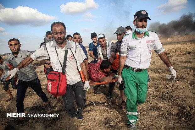تصعيد الهجمات الصهيونية على غزة