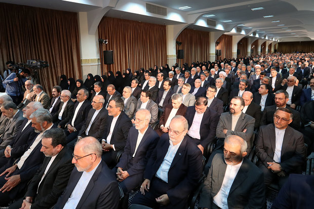 Leader addresses the annual gathering of Iranian diplomats