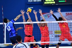 Iran beats title-holder at the first match of Asian U20 Volleyball C'ships
