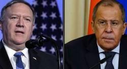 Lavrov, Pompeo discuss Syria by phone