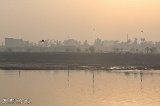 شاخص کیفیت هوا اهواز 148