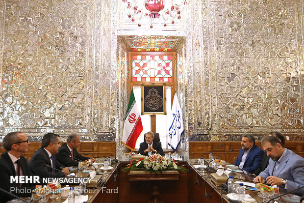 Meeting of Iran and Austria's parliamentary officials  in Tehran