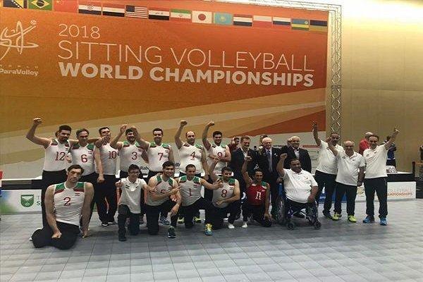 تیم ملی والیبال نشسته ایران قهرمان جهان شد