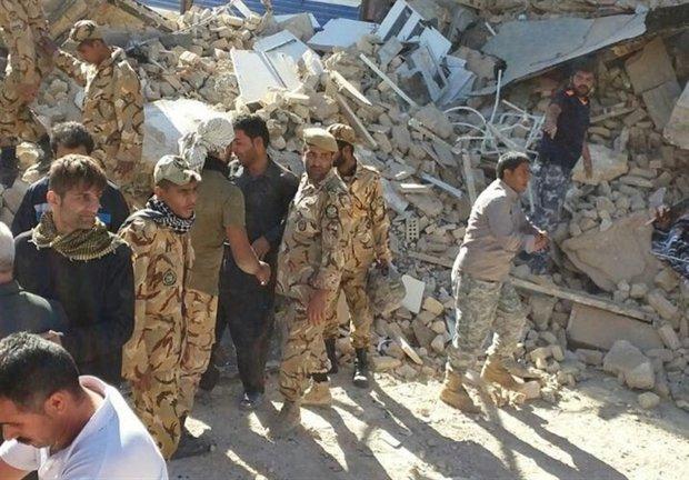 آمادهباش گردانهای عملیاتی ارتش برای خدمترسانی به زلزلهزدگان