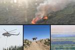 آتش سوزی تالاب هورالعظیم