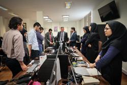زيارة السفير البلغاري لدى إيران لوكالة مهر/صور