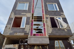 خسارات زلزله در تازه آباد