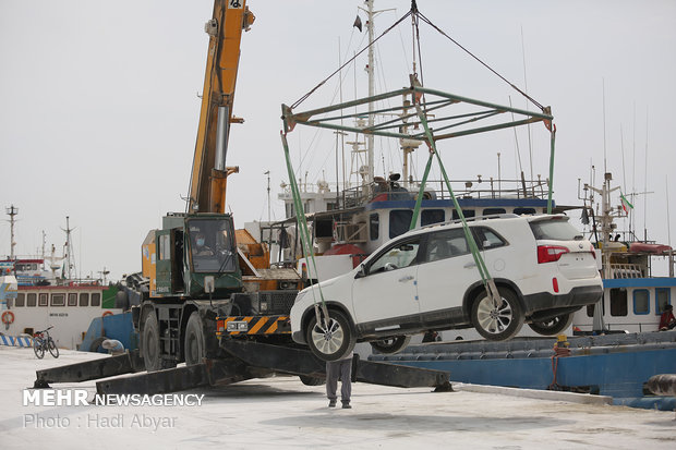 Arvand Free Zone active in car imports