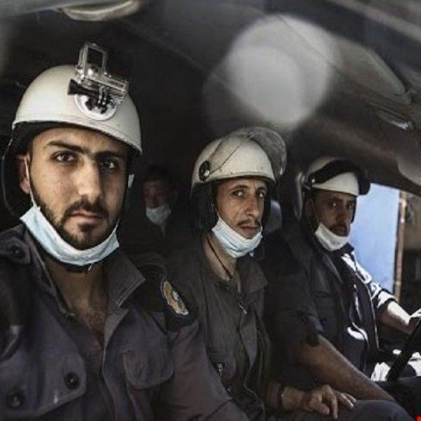 جماعة الخوذ البيضاء المدربة اسرائيلياً هربت معها ضباط وعملاء مخابرات دول الخليج الفارسي