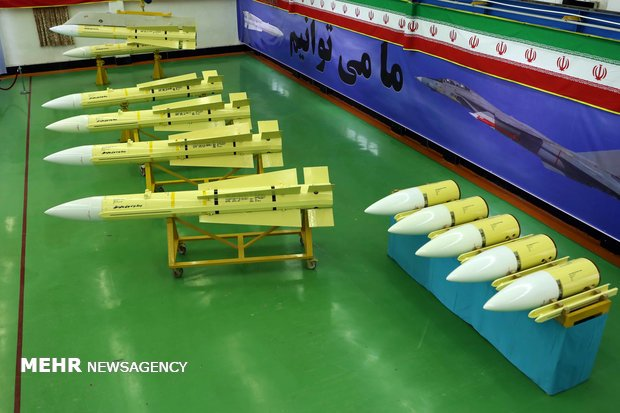 Production line of Fakoor missiles