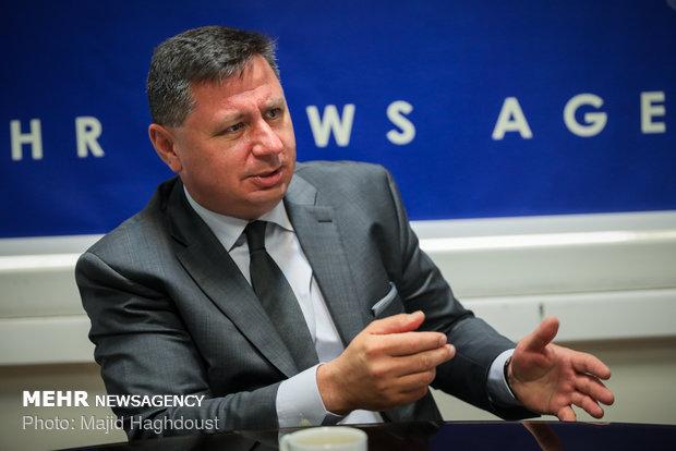 Bulgaristan'ın Tahran Büyükelçisi Mehr'i ziyaret etti