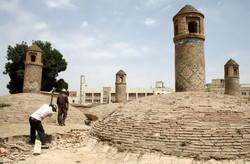 ساماندهی و مرمت آب انبار سردار محله قُملاق در قزوین