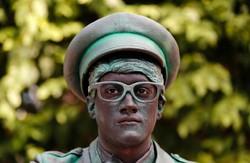 Belçika'daki canlı heykel festivalinden fotoğraflar
