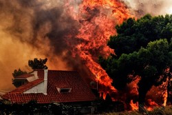 Wildfire in Greece