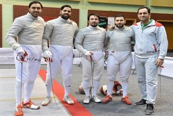 Iran sabre fencers advance to quarterfinals of World Fencing C'ships