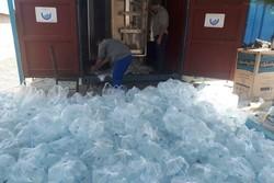 ۵ هزار بطری آب آشامیدنی به کرمانشاه ارسال میشود