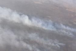 عکس های هوایی آتشسوزی در هورالعظیم