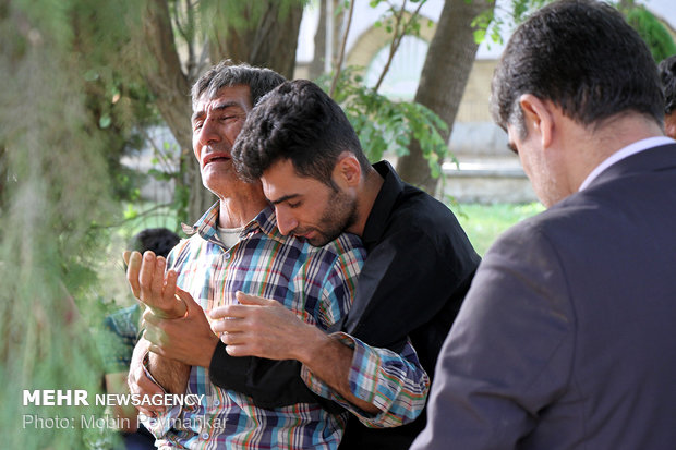 Commemoration of 10 IRGC forces martyred by PJAK